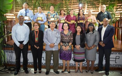 Ten Indigenous persons honoured for their contribution to community development