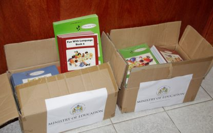 Textbooks to be shipped to Kopinang Primary School to address shortage