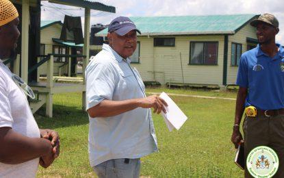 Minister Trotman visits Kwakwani