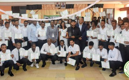 MNR Industry Skills Training Enhancement Programme 2018 completed