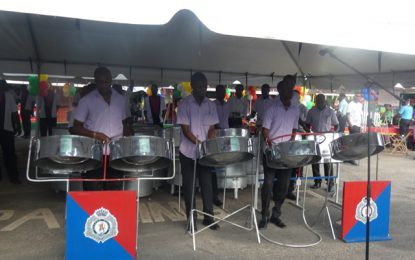 Hitting the right notes – Police Force military band celebrates 160th anniversary