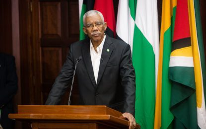 "Guyana has the potential to become ""competent food producer"" in region – Pres. Granger"