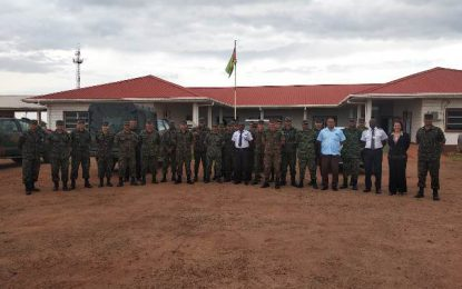 Min. Harmon meets Brazilian Army Engineering Battalion, other stakeholders