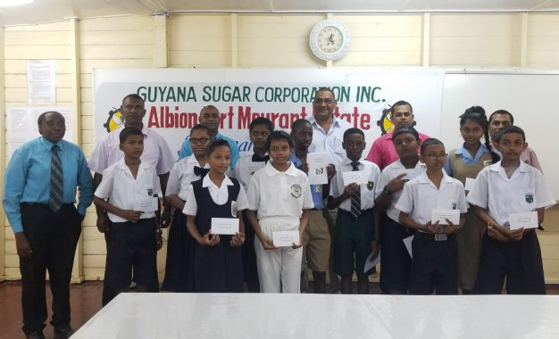 GuySuCo awards first set of bursaries to NGSA students