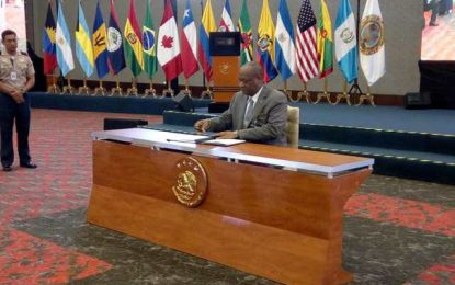 Minister of State attends Conference of Defense Ministers of the Americas
