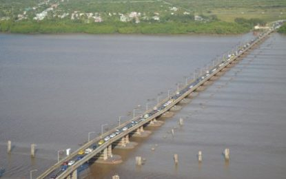 Infrastructure Minister pushes ahead with New Demerara River Crossing