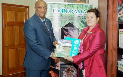Guyana receives Climate Landscape Analysis for Children from UNICEF