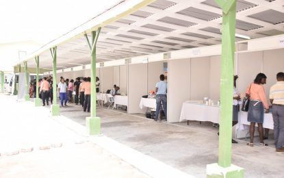 MoTP hosts health fair to promote healthy lifestyles among staff