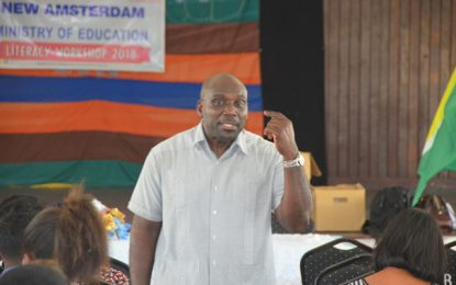 DoE Region Six concludes literacy seminar in Berbice