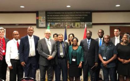 Protected Areas Commission partnering with Surinamese agencies to strengthen protected areas in Guiana Shield