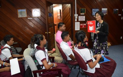Students educated on the work of the UN