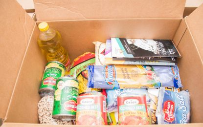 Hampers for Venezuela migrants in Region One