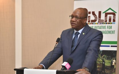 'The Caribbean region must work together to promote sustainable land management'