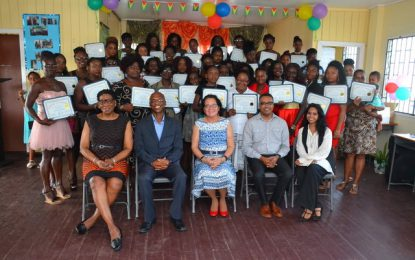 North Sophia residents graduate from First Lady's 30th Self-Reliance and Success in Business Workshop