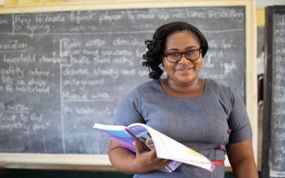 Latoya Burrowes-Duke, serving 17 years in the teaching profession