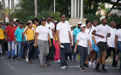 Healthy living for a better life – Agri Ministry hosts fitness walk