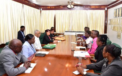 President Granger sees imminent end to GTU, Ministry of Education deadlock