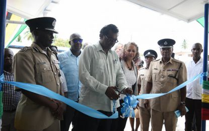 $117M Mackenzie Police Station commissioned