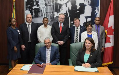 Guyana and Newfoundland sign oil and gas MoU
