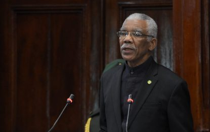 President David Granger urges national unity.