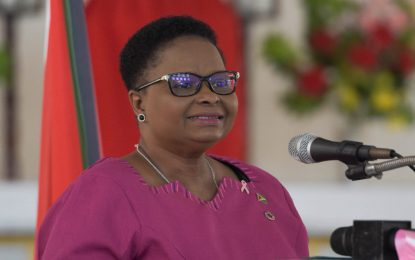 """Become an Agent of Change for Breast Cancer"" – Min. Lawrence"