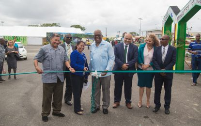 Green Guyana Expo and Summit opens