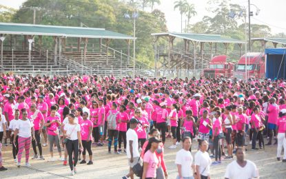 Pinktober breast cancer walk, bigger and better– GTT CEO