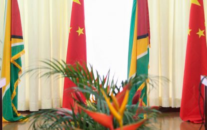 Guyana and China share a common desire to strengthen economic relations and trade  -President Granger