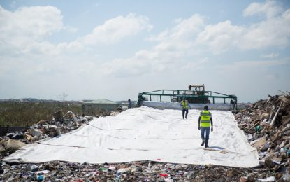 Contractors collaborate to monitor waste disposal at Haags Bosch