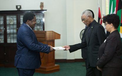 Three new ambassadors, two high commissioners accredited