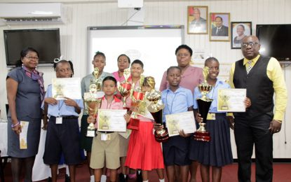 Linden Special Needs Centre tops 3rd Annual 'Signing Bee' Competition