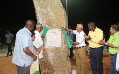 Mahdia now Guyana's 10th town