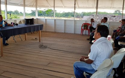 North Rupununi leaders urged to create visionary, green sustainable projects