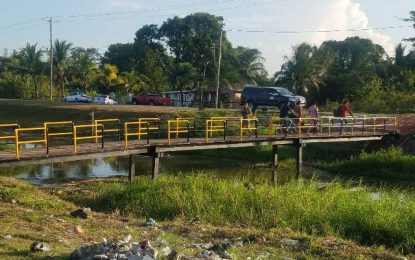 "Small bridges 'got great significance"" – Region Three infrastructure welcomed"