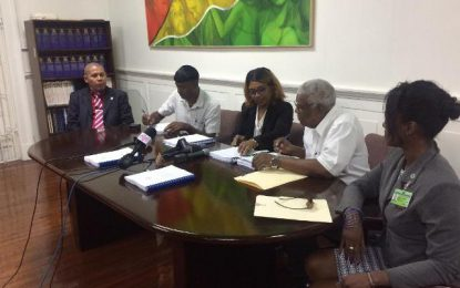$320M in contracts signed for Berbice, Linden synthetic tracks