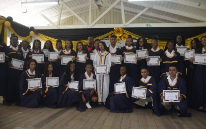 Berbice Educational Institute honours 78 graduates