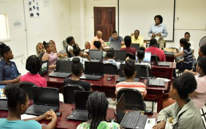 Office of the First Lady launches ICT training programme in Anna Regina