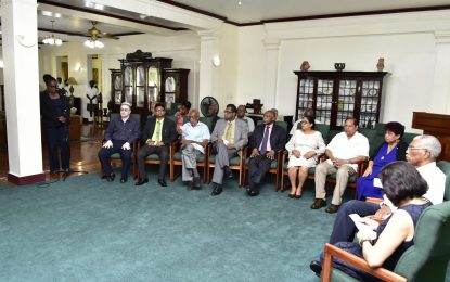 President Granger thanks ministers, nation for support
