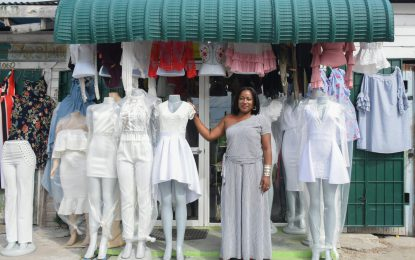 Fashionista adding flair to local clothing industry