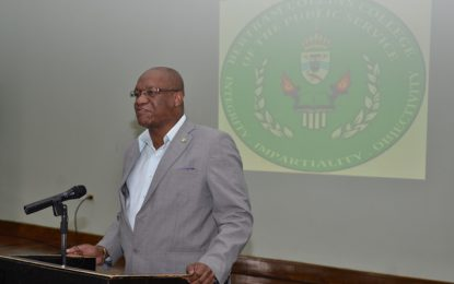 Changes taking place in public service landscape – Min. Harmon