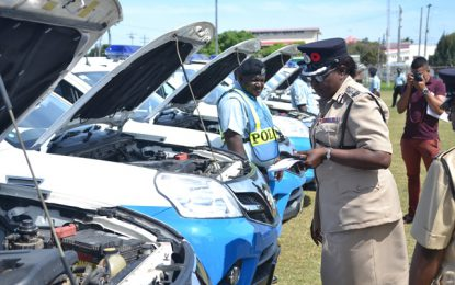GPF vehicles formally inspected