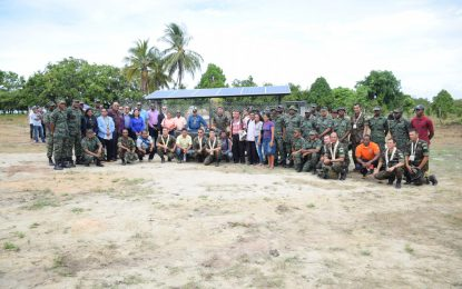 Completed and commissioned – Deep South Rupununi wells handed over
