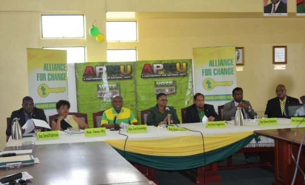 "APNU+AFC Coalition remains ""strong and united"""