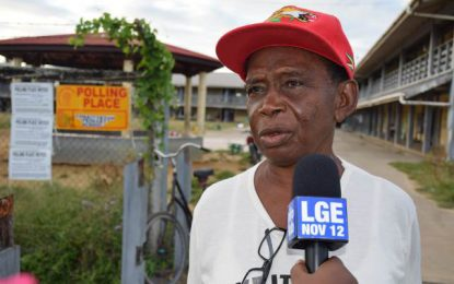 Voters; candidates in Upper Corentyne foresee positives from 2018 LGE