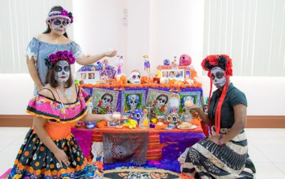 Caribbean writers honoured as Mexican Embassy hosts Day of the Dead celebrations