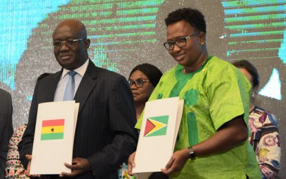 Foundation set for airline operation between Ghana and Guyana