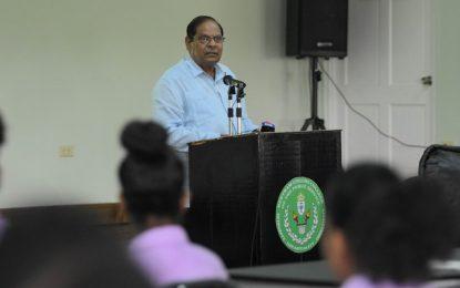 Public Servants must master the craft of politics- PM Nagamootoo