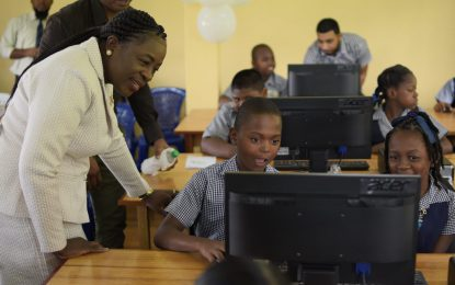 Two more schools benefit from IT labs