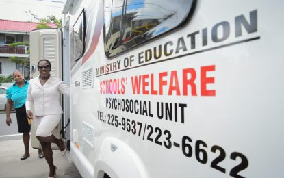 First-ever mobile counselling vehicle commissioned