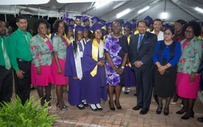 "President's College graduates urged to ""transcend barriers"""